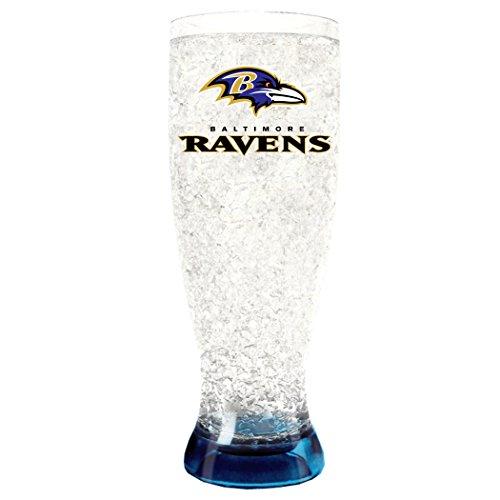 NFL Baltimore Ravens 16oz Crystal Freezer - Nfl Hat Beer