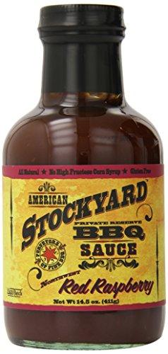 American Stockyard Red Raspberry BBQ Sauce, 14.5 Ounce