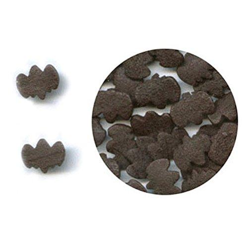 Black Bat Edible Sprinkle Quins - 2.6 ounces -