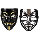 S3 V for Vendetta Halloween Face Masks Cosplay