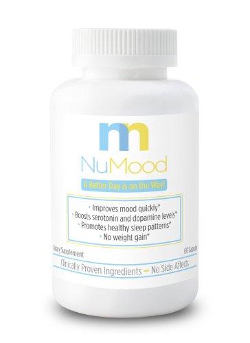 Natural amélioration de l'humeur! Supplément NuMood- naturel sérotonine pour l'amélioration de l'humeur rapide, Natural Stress Relief et la solution de l'anxiété.