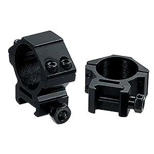 UTG 2 x anillo de montaje 30mm para Riel Picatinny/Tejedor - Bajo 9mm Ver canal RGWM - 30L 4