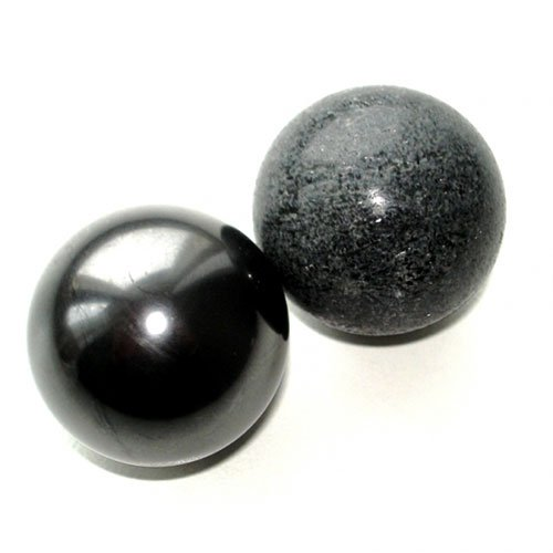Harmoniser Balls polished 40 mm Shungite & Tulikivi (Talkhorite)