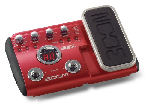 Zoom B2.1u - Bass Effects Pedal with USB and Expression Pedal