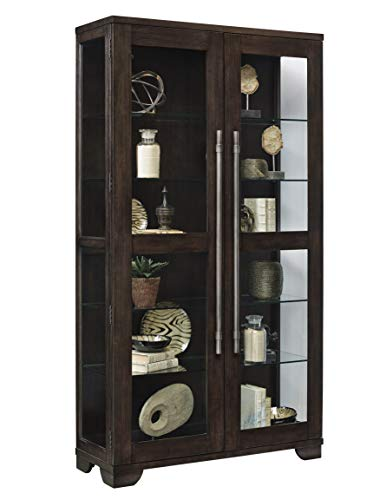- Pulaski P021585 Collection Zadie Two Door Curio Display Cabinet, 44