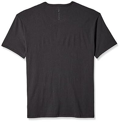 Calvin Klein Jeans Men's Short Sleeve Knockout Flocked Logo Crew Neck T-Shirt