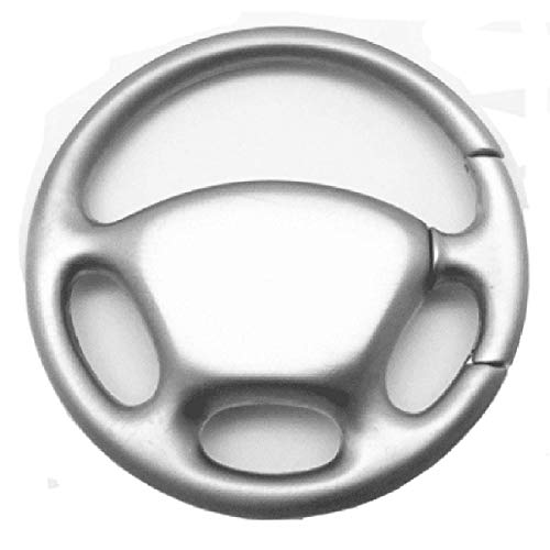 Key Holder Wheel Steering (Sharp Blank Steering Wheel Key Chain - Key Fob Key Holder)