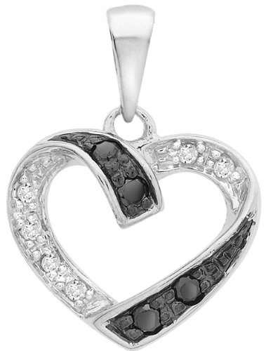 Carissima Gold - Pendentif - 5.61.299G - Femme - Or Blanc 375/1000 (9 Cts) 0.799 Gr - Diamant