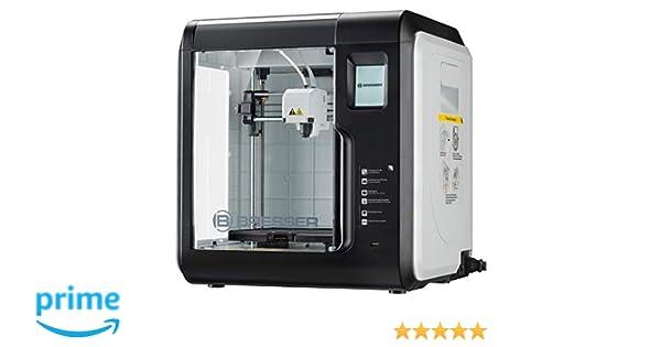 Impresora 3D Bresser con WiFi y cámara integrada, Incluye Filtro ...