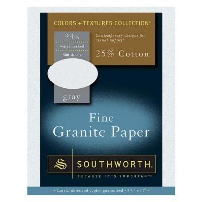 (Southworth Fine Granite Paper)