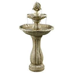 Lapham Solar Powered Design Outdoor Floor Fountain