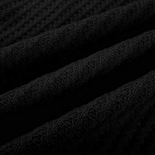 Haut Irrégulier Taille Blouse Bouton Streetwear Tricot Chauve Femme Grande Sweat Zycshang Noir Casual Col Tunique Ourlet Lâches Châle Sweatshirt Chemisier Tops Souris Pull Pullover Overcoat Znx4UWUI
