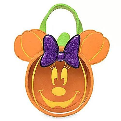 Disney Minnie Mouse Trick or Treat Bag - Glow Orange (Alice In Wonderland Trick Or Treat Bag)