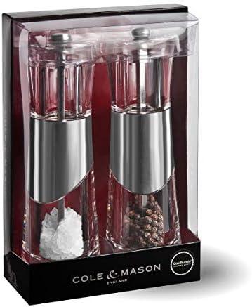 One Size Chrome Cole /& Mason H57273PU Cole and Mason Bobbi Gift Set