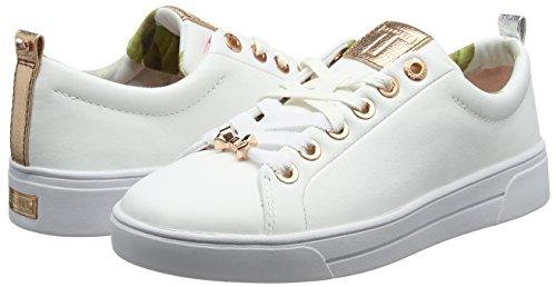 Femme Baker Blanc white Baskets Kellei Ted qPFwO4w