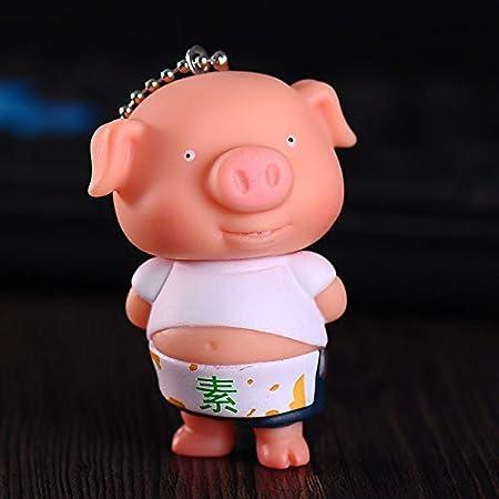 Amazon.com: Sea Versy Keychain Cute Fashion Cute Pig ...
