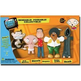 (Family Guy Series 2 Another Freakin' Sweet Bendable Set )