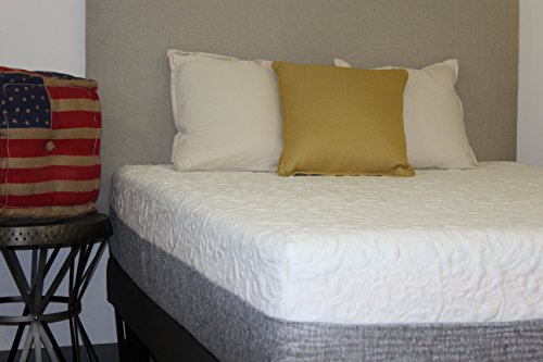 (12 Inch Cooling Gel Memory Foam Mattress Plush Support Made in USA (Queen))