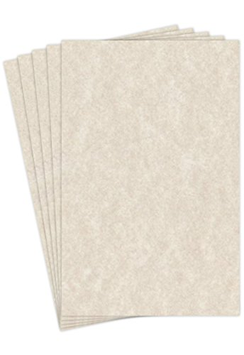 - Natural Cream Stationery Parchment Paper, 60lb. Text 11 X 17 Inches, 50 Sheets (Natural Cream)