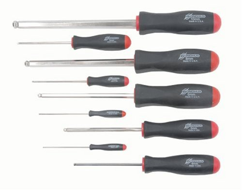 Bondhus 16699 Set of 9 Balldriver Screwdrivers with BriteGua