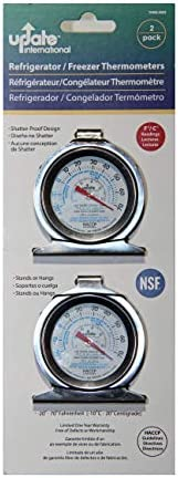 Update International THRE 20X2 Refirgerator Thermometers