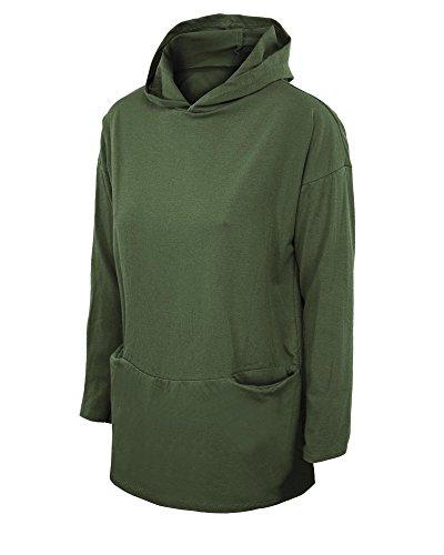 Girogama - Sudadera con capucha - para mujer Verde