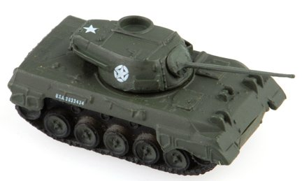 1:144 Scale WWII Tank Destroyer: M18 Hellcat (M18 Hellcat Tank Destroyer)