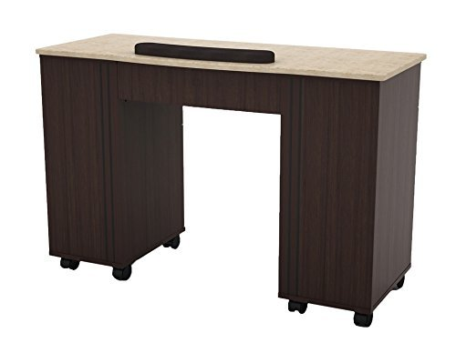 Madison & Park 1 Nail Table with Marble Top Berkeley
