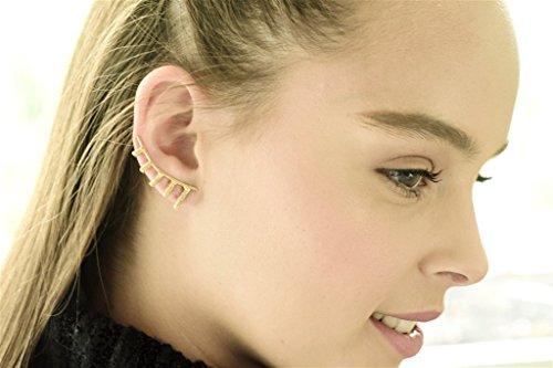 14k Cuff Earrings - 6