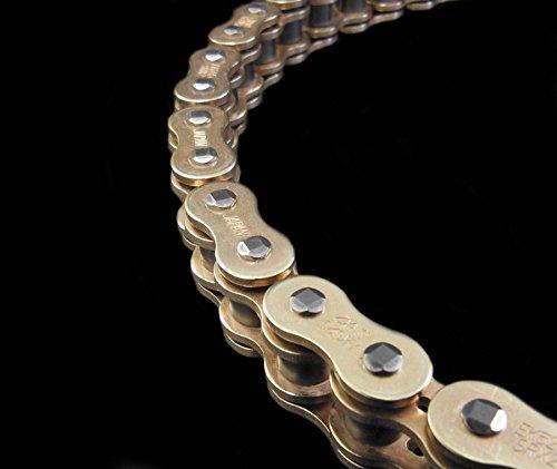 EK Chain 520 SRX2 Quadra X-Ring Chain - 120 Links - Gold, Chain Application: All, Chain Length: 120, Chain Type: 520, Color: Gold EK 520SRX2 X 120 GLD - Ek Motorcycle Chains
