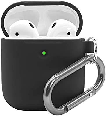 Airpods 2 Case With Keychain Waterproof Silicone Cover Airpods