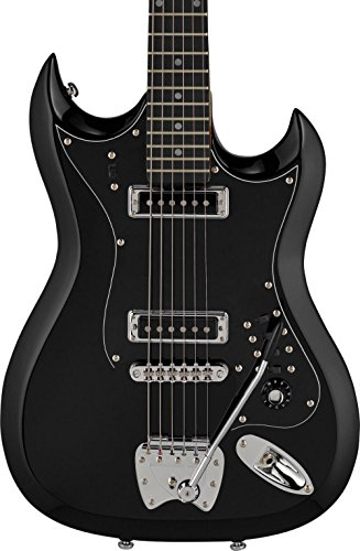 Hagstrom HII-BLK Retroscape Series HII  Black for sale  Delivered anywhere in USA