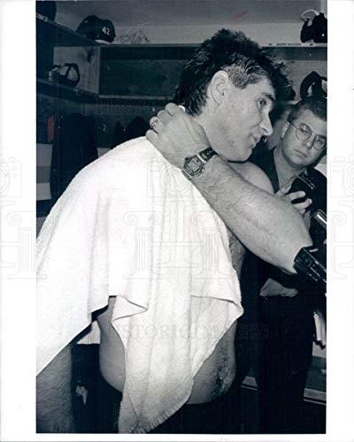 Historic Images - Undated Vintage Press Photo NHL Boston Bruins HOF Ray Bourque - snb7553