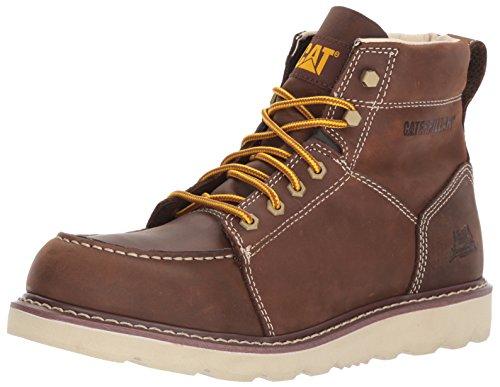 Caterpillar Mens Tradesman/Chocolate Brown Industrial and Construction Shoe Chocolate eZ2Szv
