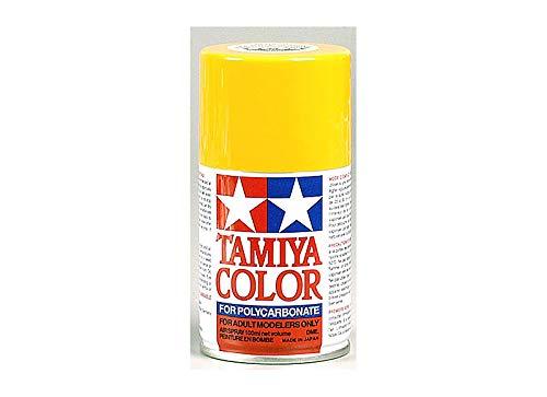 Tamiya Polycarbonate PS-19 Camel Yellow Spray - Rc Tamiya Nitro
