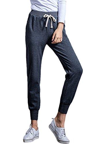 La Mujer Pantalones De Deporte Pantalones De Tobillo - Longitud Para Corredores Darkgrey
