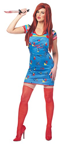 Overall Costumes Women (Sexy Chucky Adult Costume - Large)