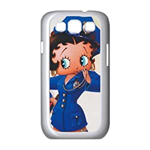 Betty Boop the Police Officer Samsung Galaxy S3 9300 Cell Phone Case White Phone Accessories VG_996138