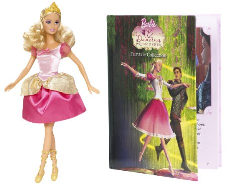 Barbie 12 Dancing Princesses Genevieve Doll and Book -