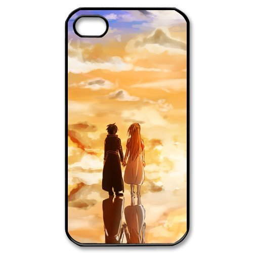 Fayruz- Sword Art Online Protective Hard TPU Rubber Cover Case for iPhone 4 / 4S Phone Cases A-i4K304