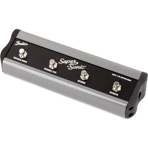 Fender SuperSonic 4 Button Footswitch (Fender Supersonic Guitar Amplifier)