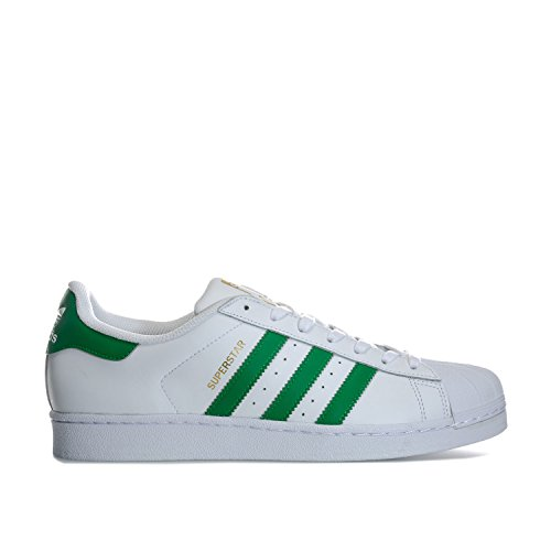 Adidas Trainers Wht Casual 8 Up Lace Superstar Mens Foundation 5 Grn Originals qqrTO