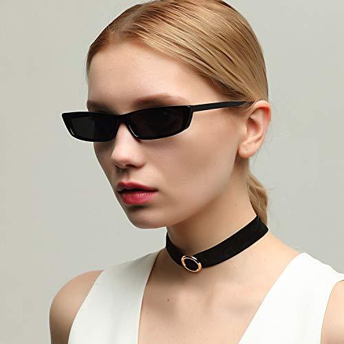 Protection de pour et Vintage magasinage UV Lunettes la Lunettes Mode Filles Black Dames carré Femmes Utilisation pour Petit de Soleil CJJC de 400 de q7afpH