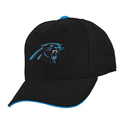 "NFL Youth Boys""Team Logo"" Structured Adjustable Hat from Outerstuff Licensed Youth Apparel"