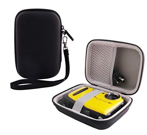 WERJIA Hard EVA Travel Case for Fujifilm FinePix XP120/130/140/80/90 Digital Camera Case (Black)