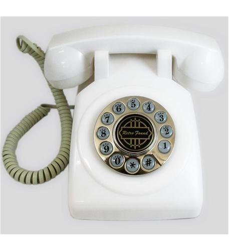 1950 Desk Phone - 1950 Desk phone White Office electronics