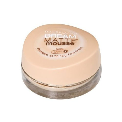 Maybelline Dream Matte Mousse Foundation - Nude - 2 Pack