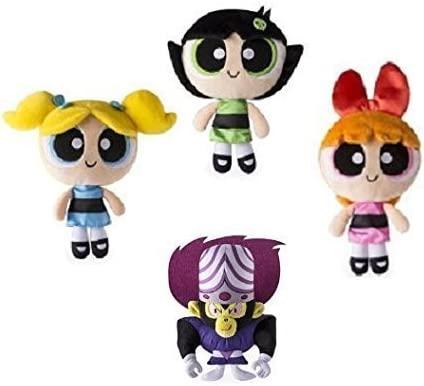 The powerpuff girls original action set 3 figure toy new in original packaging