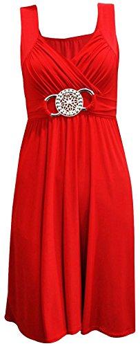 Xclusive Plus -  Vestito  - Donna rosso rosso