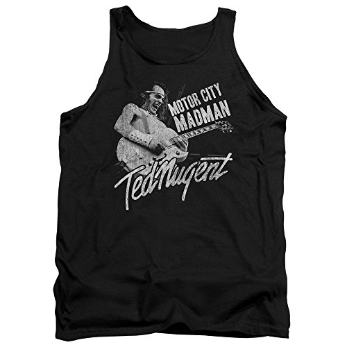 Ted Nugent - Motor City Madman - Adult Tank Top - - City Shops Whitfords